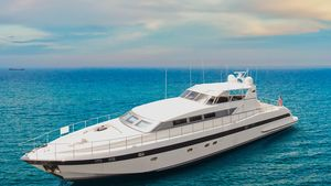 Used Mangusta Express Motor Yacht Upgraded Express Cruiser Boat For Sale