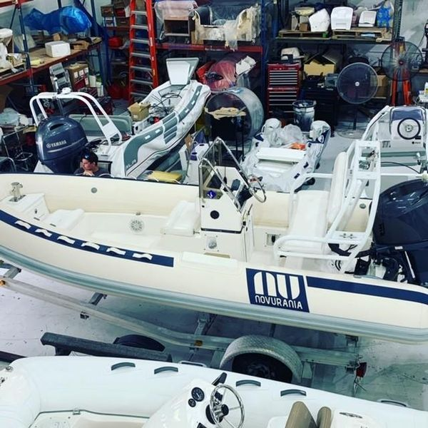 Used Novurania 550 DL Tender Boat For Sale