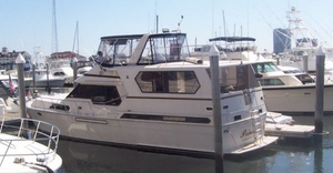 Used Med Yachts Montechristo Motivated Flybridge Boat For Sale