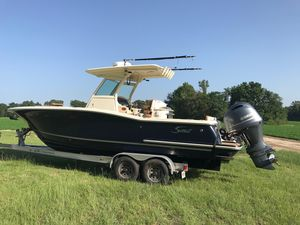 Used Scout 275lxf Sports Fishing Boat For Sale