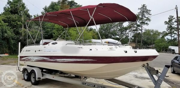 Used Hurricane Fundeck 232 GS Deck Boat For Sale