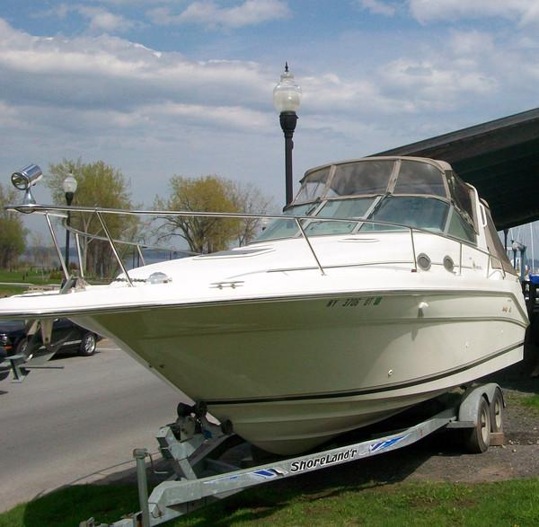 Used Sea Ray Wtrailer 290 Sundancer Express Cruiser Boat For Sale