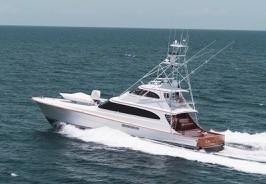 Used Merritt Custom 86' Enclosed Bridge Sports Fishing Boat For Sale