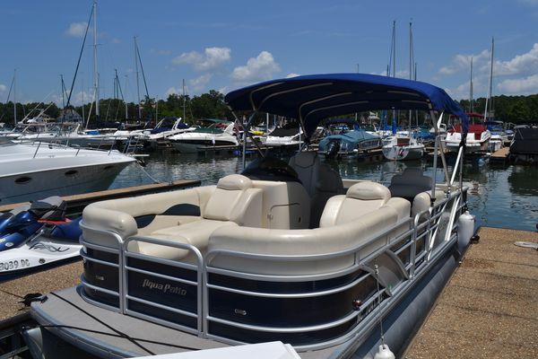 Used Godfrey Aqua Patio Pontoon Boat For Sale