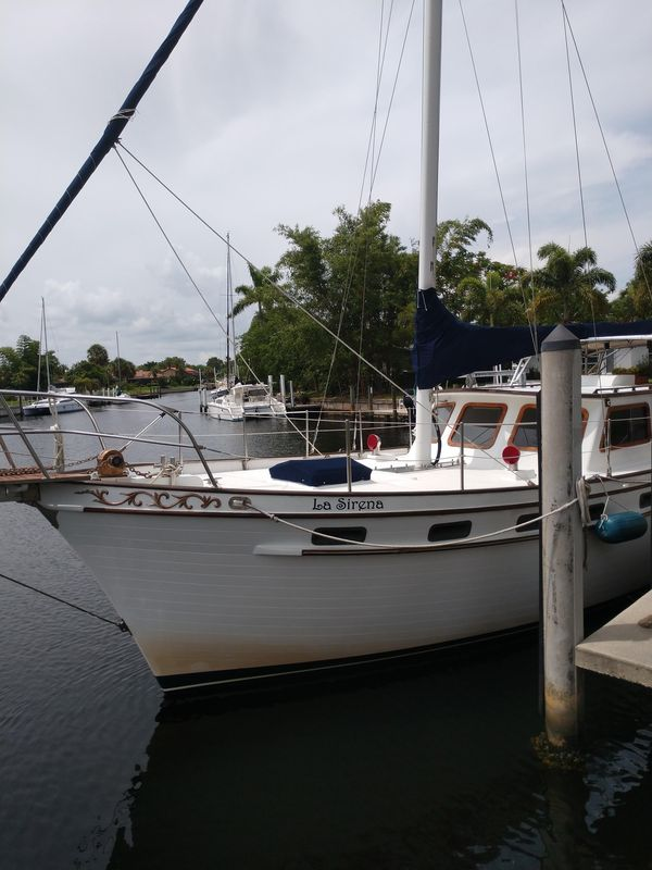 Used Island Trader 40 Motorsailer Boat For Sale