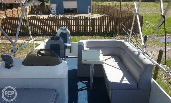 Used Landau Bandit 20 Pontoon Boat For Sale