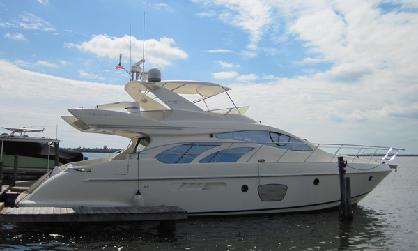 Used Azimut Evolution Fly Bridge Flybridge Boat For Sale