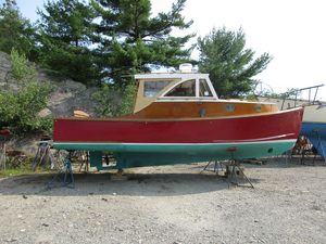 Used Stanley 28 Downeast Fishing Boat For Sale