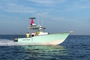Used Mirage 32' Outboard Center Console Fishing Boat For Sale