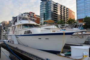 Used Hatteras 53 Extended Deckhouse Motor Yacht Motor Yacht For Sale