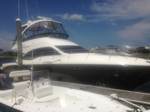 Used Sea Ray 52 Sedan Bridge Low HRS Motor Yacht For Sale