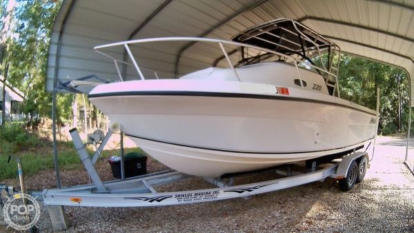 Used Angler 220 Walkaround Fishing Boat For Sale
