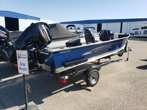 New Lund 1600 Fury SS Freshwater Fishing Boat For Sale