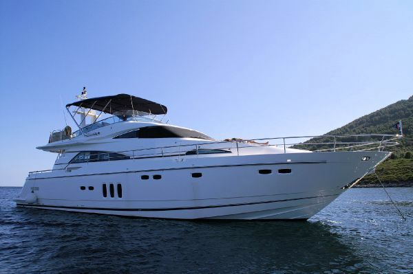Used Fairline 68 Squadron Motor Yacht For Sale