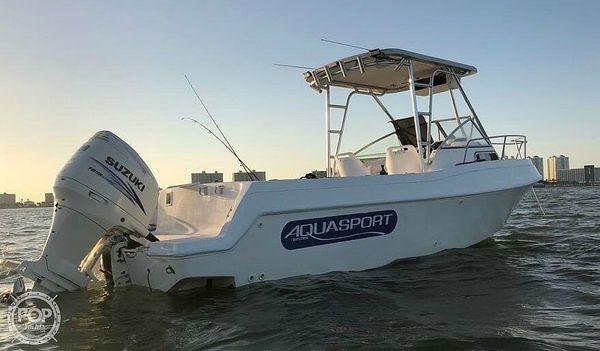 Used Aquasport 245 Explorer WA Walkaround Fishing Boat For Sale