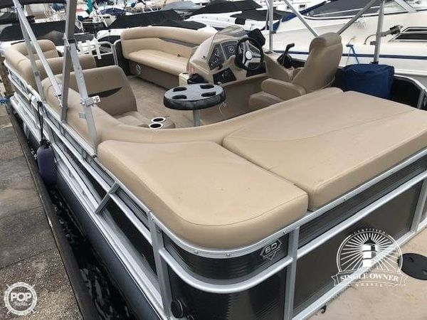 Used Sweetwater 2186C Sport by Godfrey Pontoon Boat For Sale