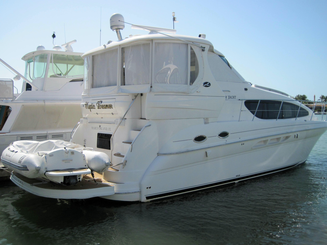 2007 used sea ray 40 motor yacht motor yacht for sale