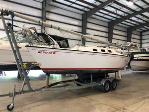 Used Precision 23 Motorsailer Boat For Sale