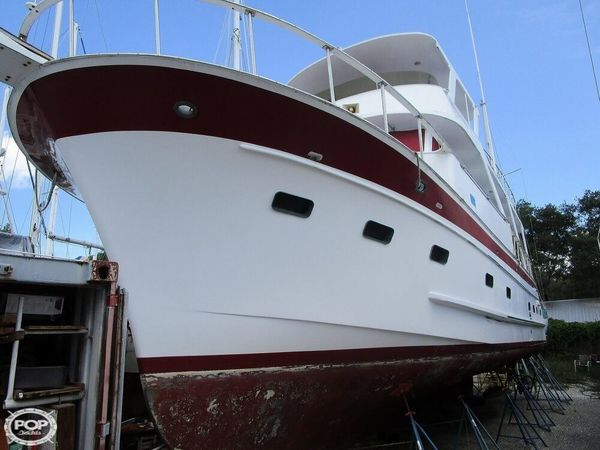 Used Marine Trader 50 Trawler Boat For Sale