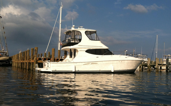 Used Silverton 45C Saltwater Fishing Boat For Sale