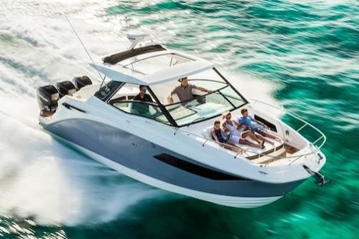 New Sea Ray Sundancer 320 Outboard Sports Cruiser Boat For Sale