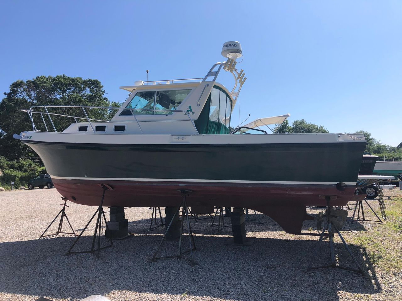 1996 Used Albin 28 Tournament Express Cruiser Boat For Sale