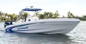 Used Sonic 32' CC High Performance Boat For Sale