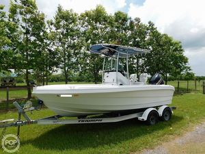 Used Triumph 195 CC Center Console Fishing Boat For Sale