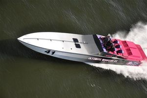 Used Apache 41 High Performance Boat For Sale