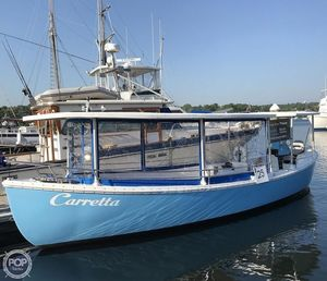 Used Navy Motor Whale Boat 26 Commercial Boat For Sale