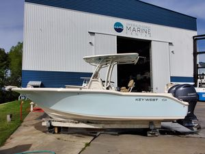 Used Key West 244 Center Console Center Console Fishing Boat For Sale