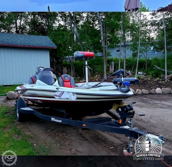 Used Triton 179 TRX Bass Boat For Sale