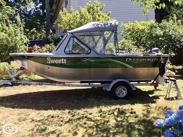 Used Duckworth Advantage Aluminum Fishing Boat For Sale