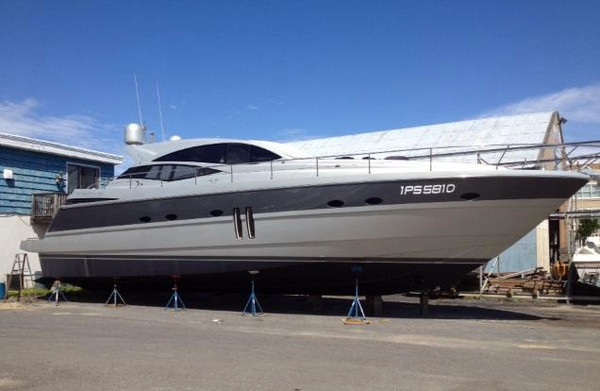 Used Pershing 62 Sports Cruiser Boat For Sale