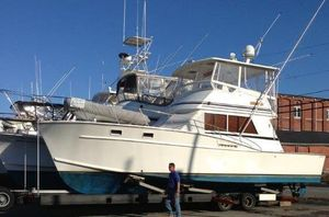 Used Fortier Convertible Sportfish Convertible Fishing Boat For Sale