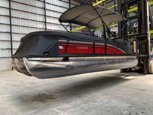 Used Harris Flotebote 220 Sunliner Pontoon Boat For Sale