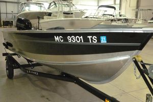 Used Lund 1600 Fury Tiller Freshwater Fishing Boat For Sale