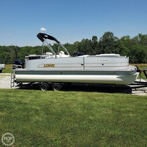 Used Lowe X254 (XL Performance Package) Pontoon Boat For Sale