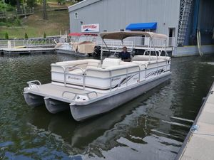 Used Playcraft 2400 Clipper Pontoon Boat For Sale