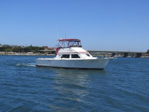 Used Blackman 38 Convertible Fishing Boat For Sale