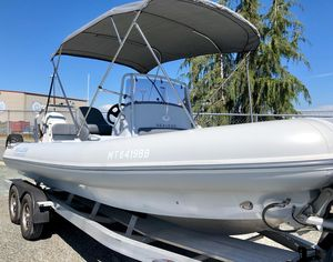 Used Sealegs 7.7 Wide Console Center Console Fishing Boat For Sale