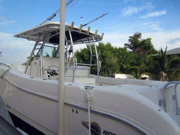 Used World Cat 330 TE Catamaran Boat For Sale