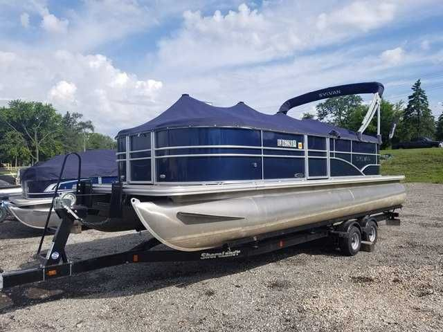 2016 Used Sylvan 822 Mirage Lz Pontoon Boat For Sale