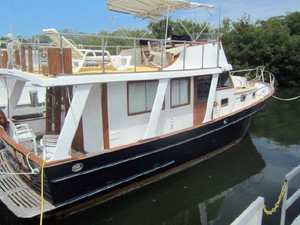 Used Marine Trader 36 Pilothouse Boat For Sale
