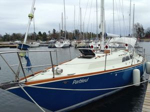 Used C&c Landfall 38 Cruiser Sailboat For Sale
