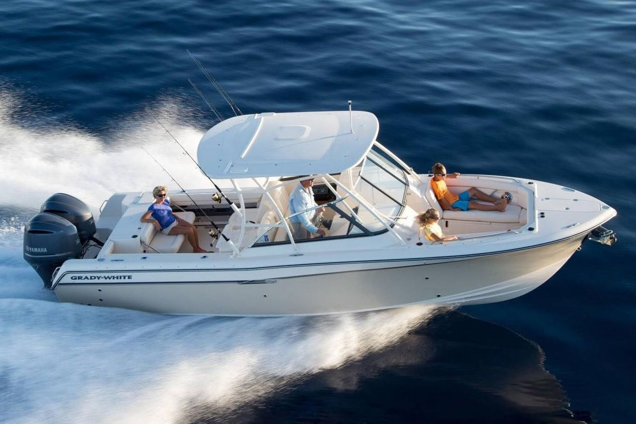 2020 New Grady-White Freedom 285 Sports Fishing Boat For