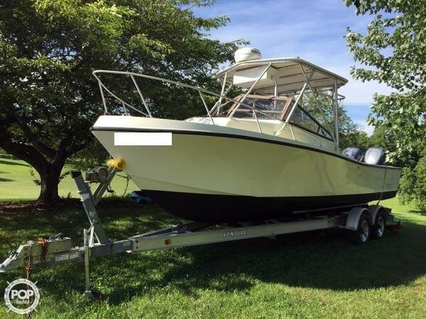 Used Mako 258 Cuddy Walkaround Fishing Boat For Sale