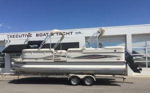 Used Crestliner 2485 LSI Pontoon Boat For Sale