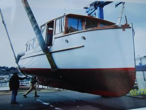 Used Custom Classic/antique Wooden Yacht Antique and Classic Boat For Sale
