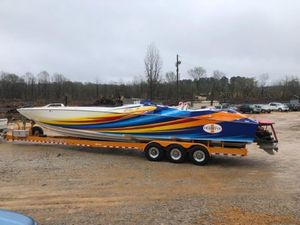 Used Cigarette Tiger 42 High Performance Boat For Sale